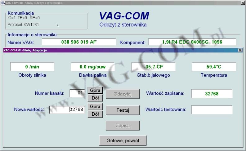 W superbly Strona firmy ADAKO - oprogramowanie diagnostyczne VCDS® OG53